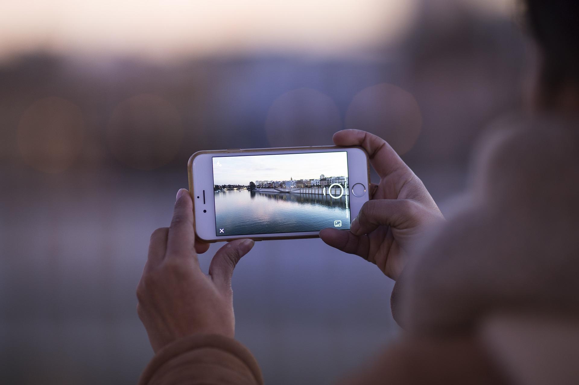 Prendre des photos avec son téléphone portable