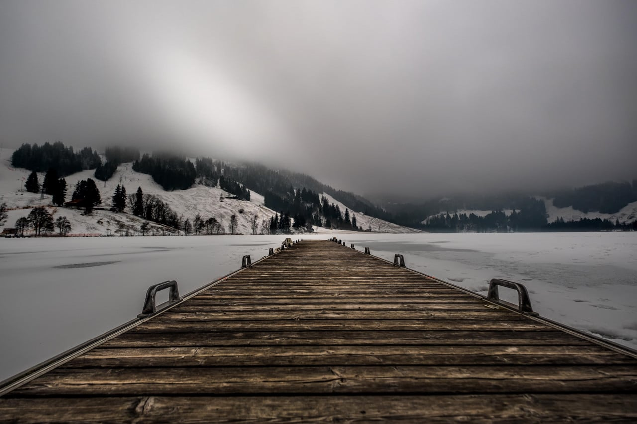 Autour du Lac noir