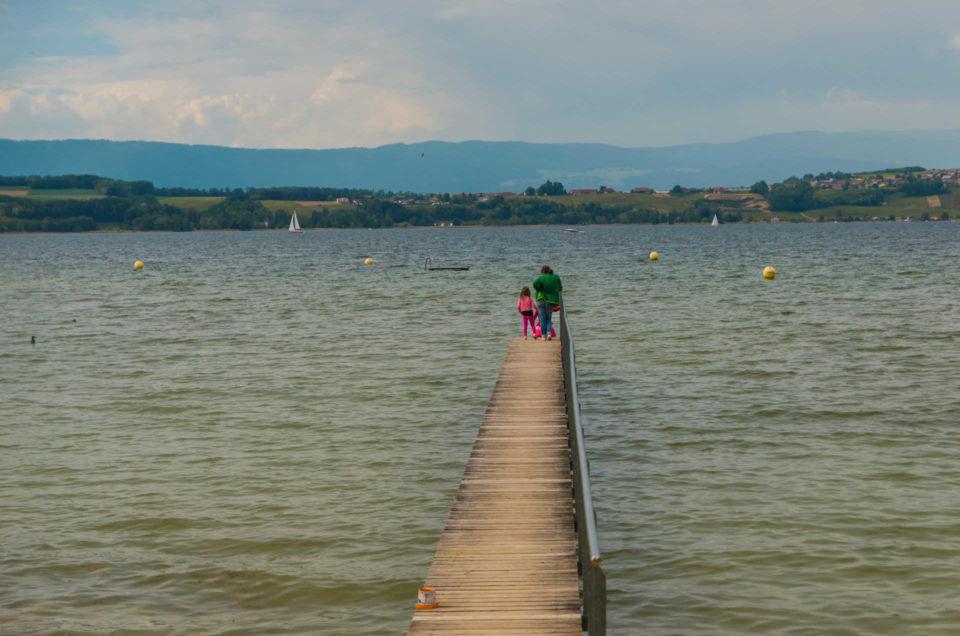 Entre plaine et lac